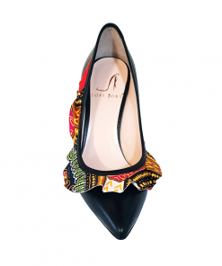 Elena Scarpe colorate con fascia africana tacco 11 made in italy Sofi Kobs