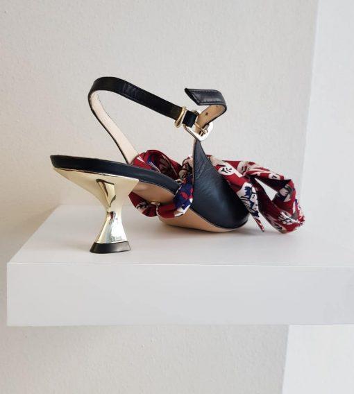 Mia scarpe estive salndali colorari con motivi africano Sofi Kobs