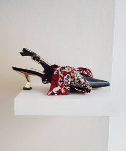 Sandali colorati con motivi colorari Mia Sofi Kobs