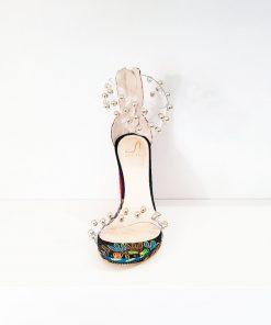 SK19 sandali colorati tacco-alto Sofi Kobs