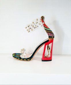 SK19 scarpe colorate tacco alto Sofi Kobs