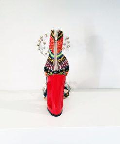 SK19 scarpe colorate tacco alto Sofi Kobs sandali